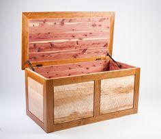 Cedar-lined blanket chest