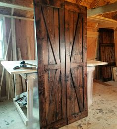 barn doors today are becoming part of interior decoration in many houses because they are stylish when building a barn door on your own barn door hardware