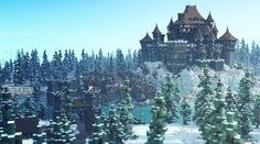 Dreadfort WesterosCraft。Minecraft