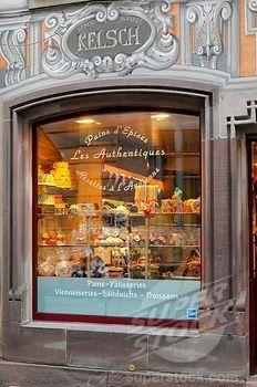 Kelsch patisserie, bakery, centre of Strasbourg, Alsace, France, Europe (1848-270209 / 1297031 © imagebroker.net)