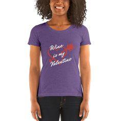 80eb1b64 Women's | W*ine is My Valentine | Tee
