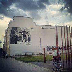 Bernauer Strasse 1961 #Berlin #Wall