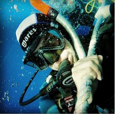 Scuba diving selfie for Eudi Selfie . try to win a ticket for EudiShow 2016 by posting a selfie with #eudiselfie hashtag on Facebook or Instagram !
