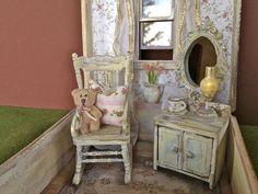 Meditation shabby dollhouse by Torisaur, via Flickr