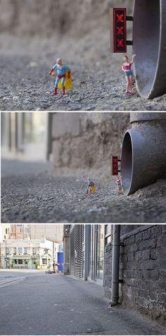 """The Lair"" - By Slinkachu"