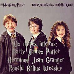 Ou se você preferir, Hermione Jean Weasley...