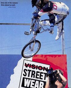 Dino Deluca! / Dyno Bmx Freestyle, Bmx Bikes, Old And New, Old School, Skate, Bicycle, 80s Style, Classic, Photography