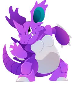 #034 Nidoking by Kuitsuku