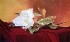 Title  Magnolia   Artist  Mojgan Jafari   Medium  #Painting - #PastelPencil And #ChalkPastel On Paper ... Beautiful!! @moongalleryca