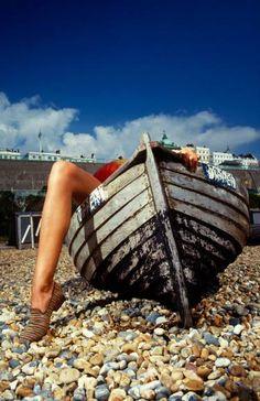 Arnold Bocklin's One Legged Boat