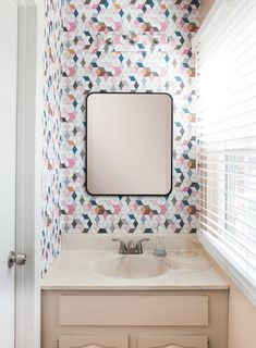 Renter Solutions For Bad Chrome Bathroom Light Fixtures | Apartment Therapy