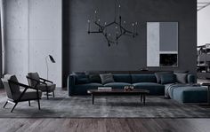 Tips For Buying New Living Room Furniture - Ideas For Room Design Morden Living Room, Living Room Grey, Living Room Interior, Home Living Room, Living Room Furniture, Living Room Designs, Living Room Decor, Furniture Plans, Furniture Design