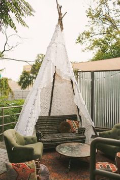 the most lovely teepee I have ever seen