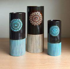 Superb! Hornsea Impact vases 1964 1965