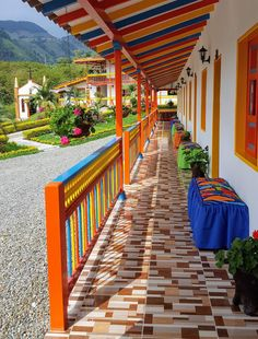 Hosteria El Paraiso has rooms in Jardin. Both free WiFi and private parking are available at this property. Hosteria El Paraiso Jardin Colombia R:Antioquia hotel Hotels Fonda Paisa, Time Travel, South America, Ideas Para, Coffee Shop, Deck, Stairs, Country, Outdoor Decor