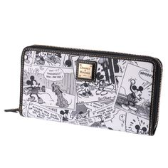 Disney Dooney & Bourke Zip Around Wallet