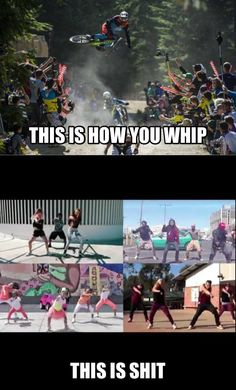 Now watch me whip ! Watch me nae nae ! This is probably the worst song ever but this meme is so funny ! Crazy Funny Memes, Funny Relatable Memes, Wtf Funny, Funny Jokes, All Mountain Bike, Mountain Biking Quotes, Mtb, Bike Meme, Mt Bike