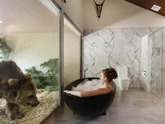 You up for an up-close African wildlife experience? #Australia's newest hotel Jamala Wildlife Lodge at the National Zoo & Aquarium gives you just this with accommodations alongside animal enclosures, guided tours & even a tree house! #hotel #travel