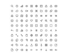 Feather Icon Set: Free Icons Downloads