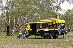 The rugged Amaroo Hornet Limited Edition is a confident offroader with a strong sense of style. Offroader, Hornet, Caravans, Recreational Vehicles, Rv, World, Confident, Wonderland, Strong