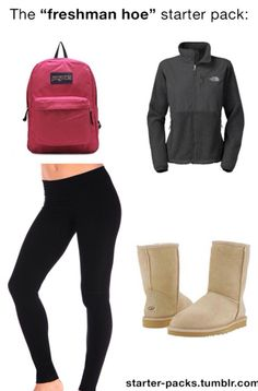 This is like the look that all the girls wear at my school from like 6th to 12th grade. But with vineyard vines shirts and more colorful uggs