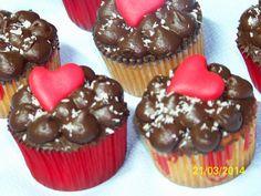 Recetas a la Verónica: Cupcakes Coco-Choc de San Valentín (7ªENTREGA)