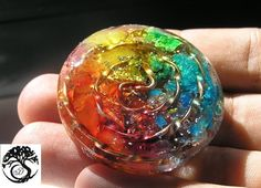Orgone Pendant orgonite ® Crystal Healing by ArboreaOrgoniteArt