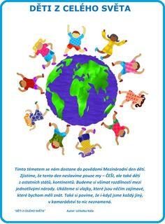 A-01 Týdenní blok: DĚTI Z CELÉHO SVĚTA Victoria Secret, Little Passports, Passport Travel, Leaving Home, Travel With Kids, Statues, Education, Children, Mom
