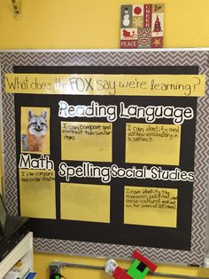 5th grade learning targets