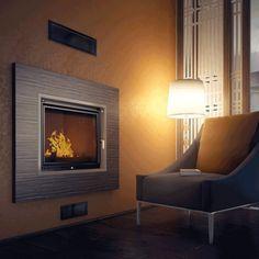Kratki Felix - Wood Burning Fireplace Insert