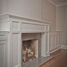 Craftsman Fireplace Design same wall indentations as we've got.