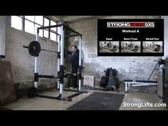 StrongLifts 5x5 Workout B: FULL Video (Official)