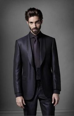 """""""Is this suit alright??"""" asks Thorin. He has his hair tied back for the theatre tonight."""