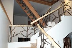modern-stair-railing-with-metal-stair-railing-and-handrails-for-stairs-also-crown-molding-with-interior-paint-ideas-and-track-lighting-for-home-interior-design-plus-clerestory-with-ceiling-lighting.jpg (1600×1062)