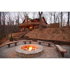 Escape to Blue Ridge Cabin - bigger one. One day i will build a cabin in the Blue Ridge mountains