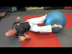 Jiu Jitsu After 50: Exercises Using a Balance Ball - YouTube