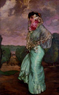 Spanish Painter Ignacio Zuloaga (1870-1945)
