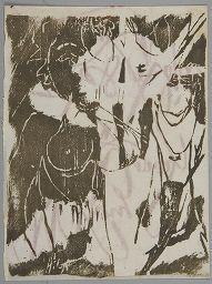 Adja Yunkers, Christmas Card, Harvard Art Museums/Fogg Museum