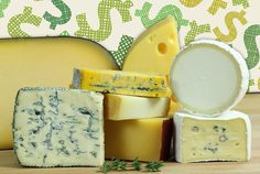 Cheese - Provided by Mental Floss