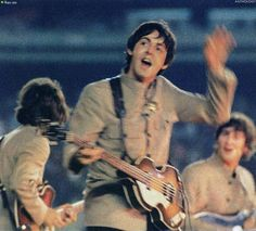'THE BEATLES ANTHOLOGY' Book 1965 The Shea Stadium Concert