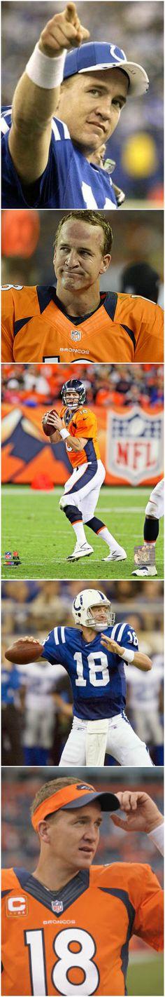 Peyton Manning -- #ProFootballDenverBroncos