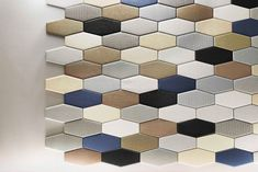 From recycled acoustic installations to intricate tile mosaics, the latest wall coverings are innovative, functional, and downright stylish.