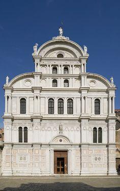 San Zaccario (kolem 1458-1489) Mauro Codussi, Benátky