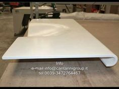 Popular Solid surface and Thermoforming videos PlayList Corian Solid Surface, Vacuum Forming, Dupont Corian, Concrete, Macs, House Design, Youtube, Buses, Wood