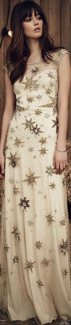 Nice Sequin Dresses Jenny Packham Bridal Spring 2017... Check more at http://24shopping.gq/fashion/sequin-dresses-jenny-packham-bridal-spring-2017/