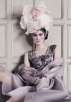 Futuristic Millinery Fashion - The Suzy O'Rourke Fall 2012 Couture Collection is Sculpturally (GALLERY)