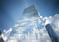 Danish #architecture firm BIG has designed a 58-storey #skyscraper for telecommunications company #Telus in downtown #Calgary, Canada.
