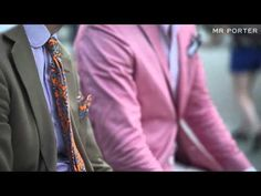 Pitti Uomo: The Details -- What They Wore --  MR PORTER gets it right. Again.