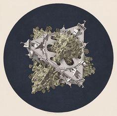 M.C. Escher – Double Planetoid