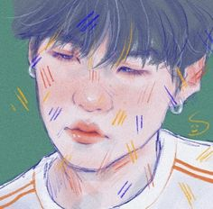 I'm trying guys 🐒. Colored Pencil Portrait, Kpop Drawings, Classical Art, Kpop Fanart, Aesthetic Art, Traditional Art, Art Inspo, Art Sketches, Art Reference